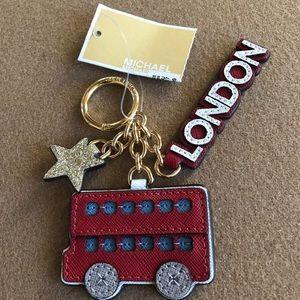 Michael Kors London Keychain Purse Charm